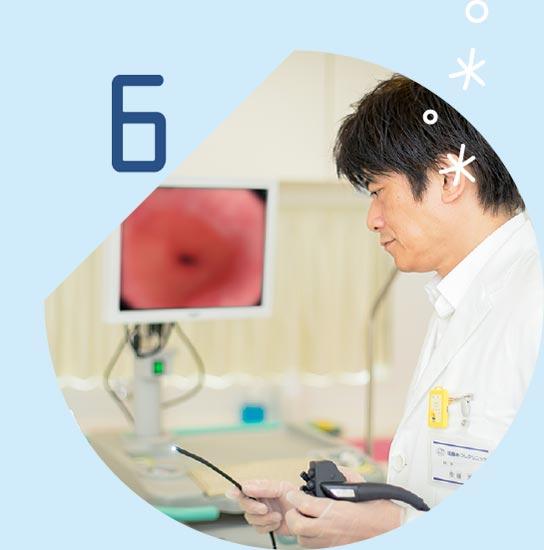 苦痛や負担が少ない経鼻内視鏡検査を導入しています。