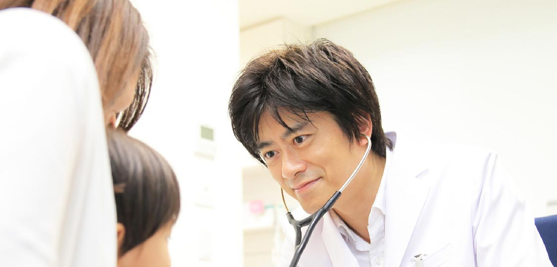 患者様のお話をよく聞いて診察を行ないます